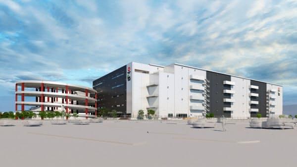 「DPL浦和美園」はさいたま市で最大の物流施設となる(イメージ)