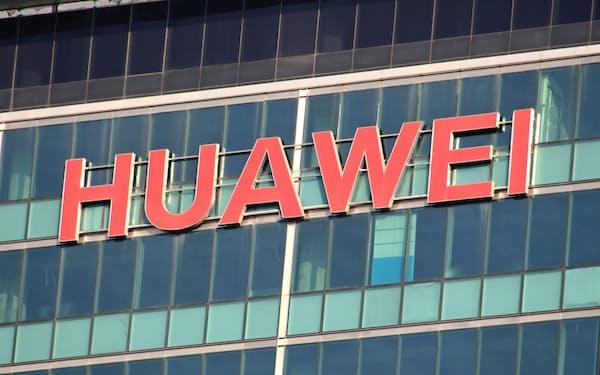 ファーウェイはフランスに通信機器の新工場を建設する(1月、広東省深圳市)