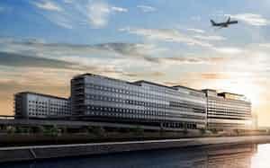 羽田エアポートガーデンには大型ホテルなどが入る(イメージ)
