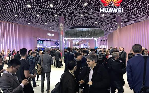 欧州はファーウェイにとって最大の海外市場(19年2月、スペインでの展示会)