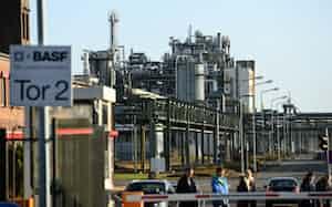 独東部シュバルツハイデのBASFの生産拠点=ロイター