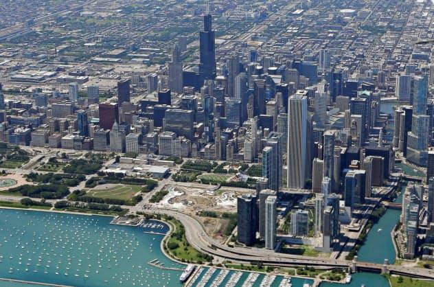 シカゴPMIは6カ月ぶり高水準に回復した=ロイター