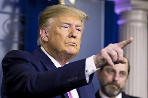 トランプ米大統領はアフガニスタンからの米軍撤収を進める考えを示した=AP