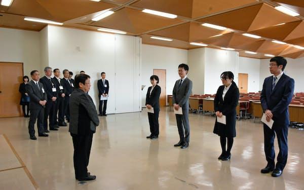 兵庫県宝塚市に採用された氷河期世代の新職員