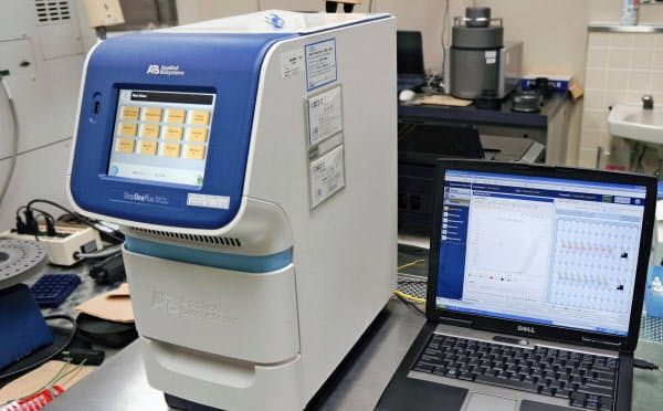 新型コロナウイルスの検査に使う装置=岐阜県保健環境研究所提供・共同