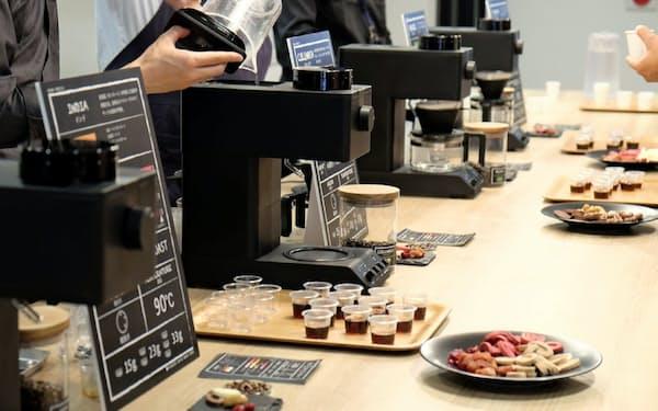 新たに従来品の2倍以上の価格の全自動コーヒーメーカーを投入
