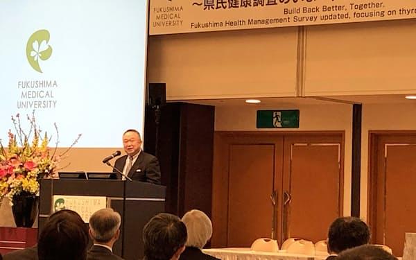 小児甲状腺がんなどに関し様々な発表があった国際シンポジウム(福島市)