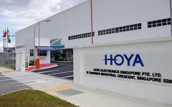 シンガポール工場を増床し、4月にもEUV向けのマスクブランクスの生産を始める