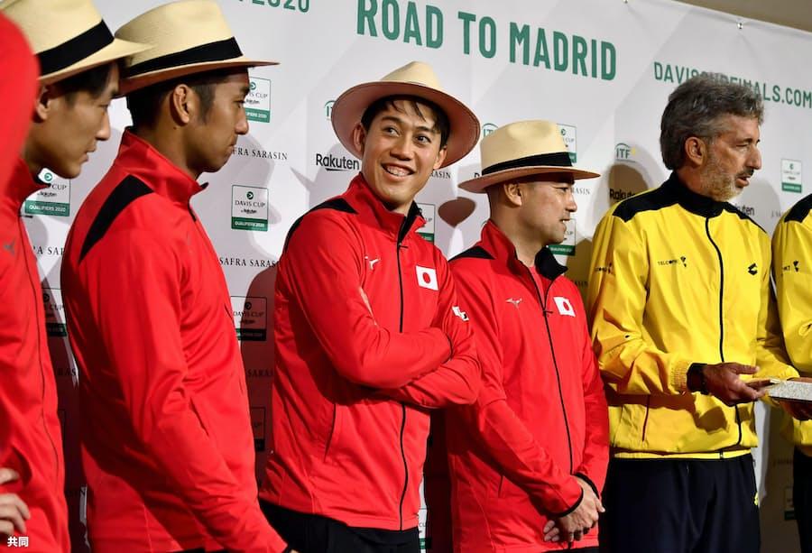 デ杯テニス、錦織は控えに エクアドル戦: 日本経済新聞