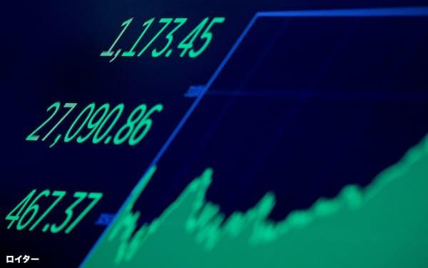 3月4日、ニューヨークで株式が大幅に反発する中で、ロビンフッド証券のシステムが停止した=ロイター