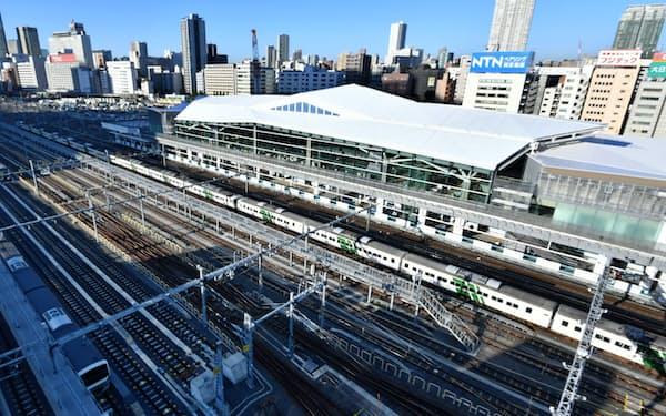 高輪ゲートウェイ駅開業に伴い、高輪の街は大きく変貌する