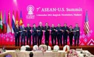 トランプ米大統領は米・ASEAN会合を欠席した(2019年11月、バンコク)=ロイター