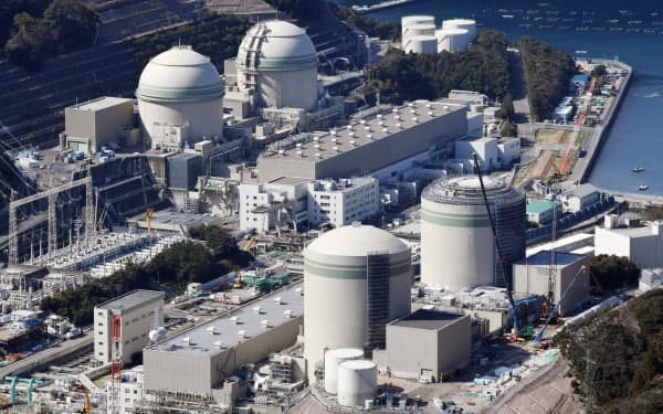 関西電力の高浜原子力発電所(福井県高浜町)