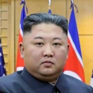 韓国大統領府によると、文大統領の健康を心配したという=共同