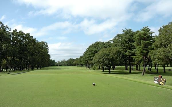 2月のゴルフ会員権相場は前年比で1割安かった(桜ゴルフ提供)