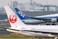JALが加盟するワンワールド、ANAが加盟するスターアライアンスなど3航空連合が共同で政府支援を求めた