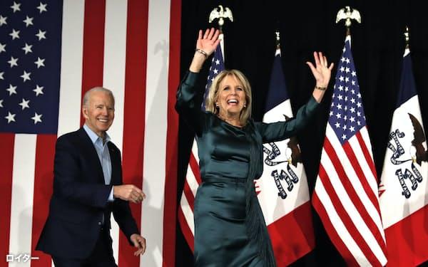 米大統領選では、各候補の配偶者が果たす役割も変わりつつある=ロイター