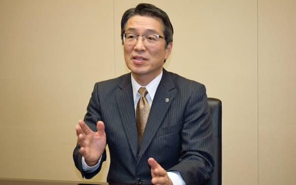 樋口副社長は再エネ事業の強化を訴えた