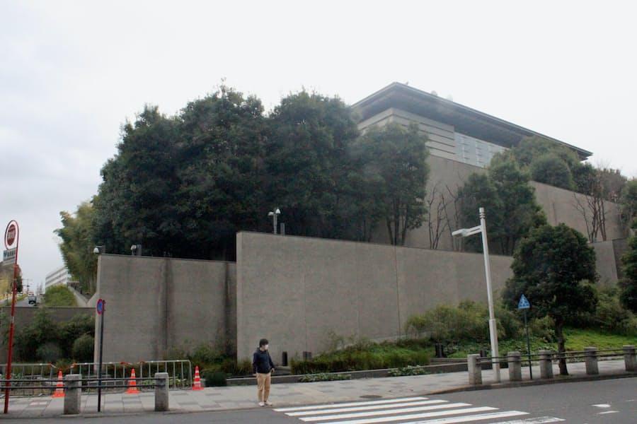 家主不在の長官公邸(写真でみる永田町): 日本経済新聞