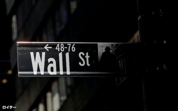 金融株は大きく下げた(ニューヨーク市)=ロイター