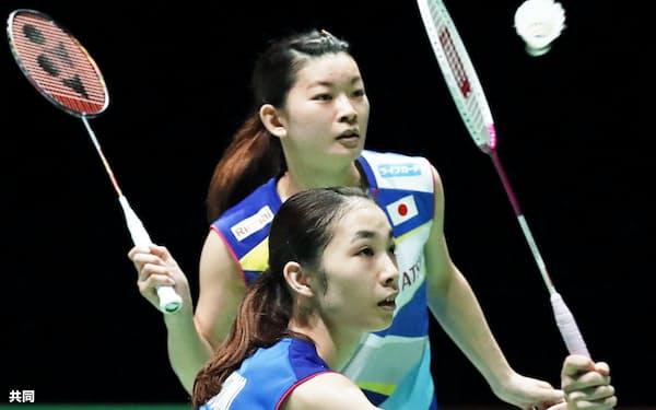リオ五輪金メダルの高橋礼(上)、松友組は現在、日本勢3番手に追い詰められている=共同