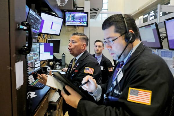 10日の米株式市場は反発した(10日、ニューヨーク証券取引所)=ロイター