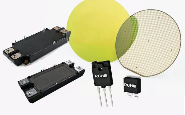 ロームは次世代材料「SiC」製の半導体に強みを持つ