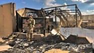 駐留米軍に対しイラク国内で反発が強まっている(イラク中西部のアサド空軍基地)=AP