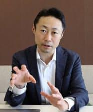 不正対策を説明するペイディーの杉江社長(12日、東京・港)
