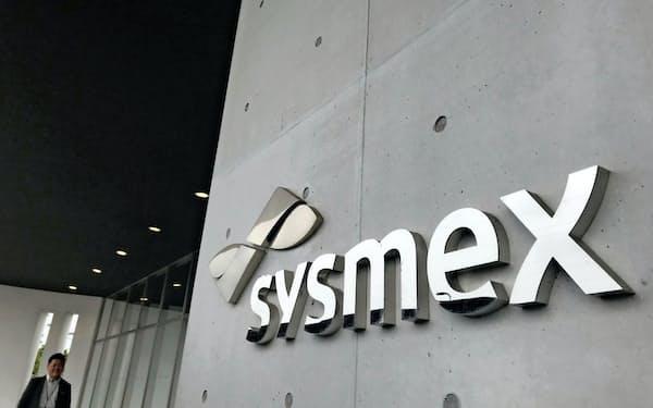 シスメックスの生産拠点(兵庫県加古川市)