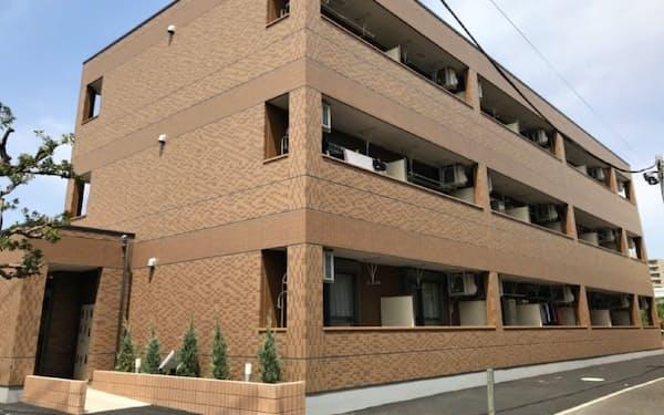 東建コーポレーションが東京都内に建設した社宅