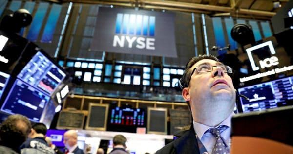 12日のニューヨーク証券取引所(NYSE)=ロイター