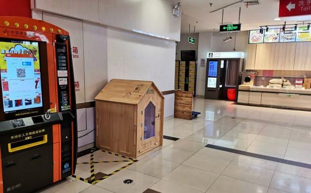ハウス内には監視カメラや換気システムなどを備えている(キャビンペット提供)