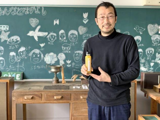 しまのテーブルごごしま代表 藤内宏次郎さん