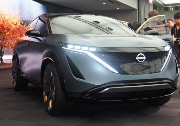 日産、全ての新車で電動車発売、環境規制に対応