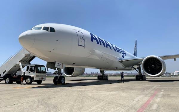 航空貨物のANAカーゴでは臨時便の需要が急増している