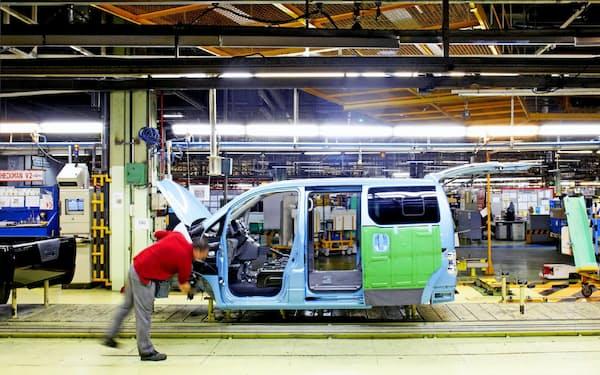 バルセロナ工場は主に商用車の生産拠点となっている