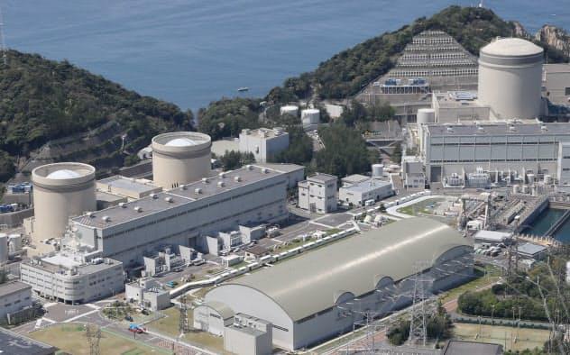 2度の大事故を起こした美浜原子力発電所(福井県美浜町)