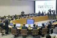 関西広域連合は新型コロナウイルス対策のため会合を開いた(15日午後、神戸市)=共同