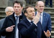 マクロン大統領の与党はパリで苦戦している=ロイター