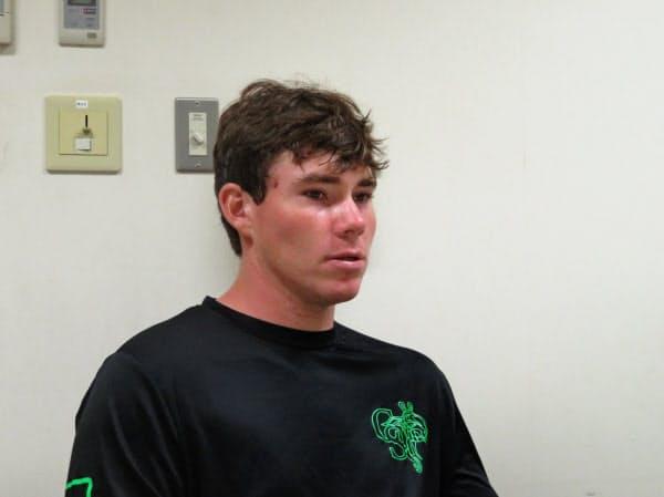 スチュワート選手はフロリダ州の「ディズニーワールド」近くの出身