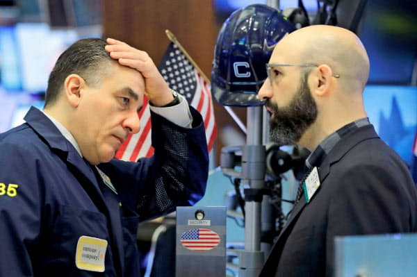 16日のニューヨーク証券取引所(NYSE)=ロイター