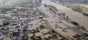 台風19号で千曲川の堤防が決壊して大規模浸水した長野市の地価は下落した(2019年10月)