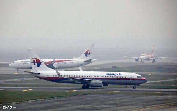 日通はマレーシア航空機を使いチャーター便を運航=ロイター