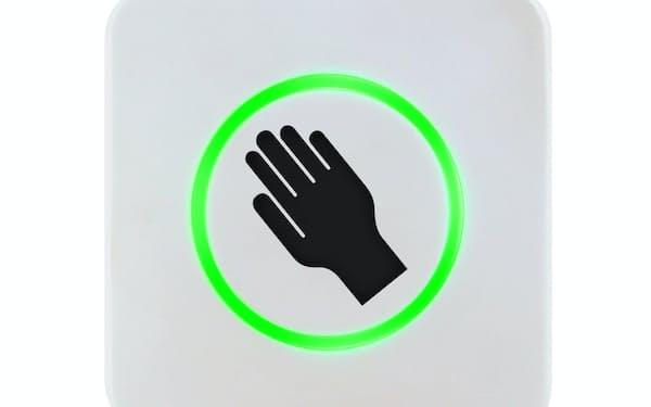 オプテックスの自動ドア用非接触スイッチ「クリーンスイッチ」