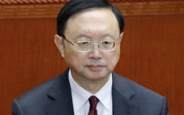 中国外交担当のトップ、楊潔篪(ヤン・ジエチー)中国共産党政治局員