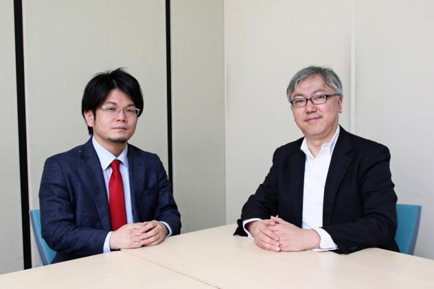 山本一郎さん(右)と森永康平さん(写真/都築雅人)