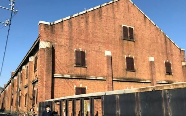 大正時代に完成した旧陸軍被服支廠。被爆の歴史を刻む(広島市南区)