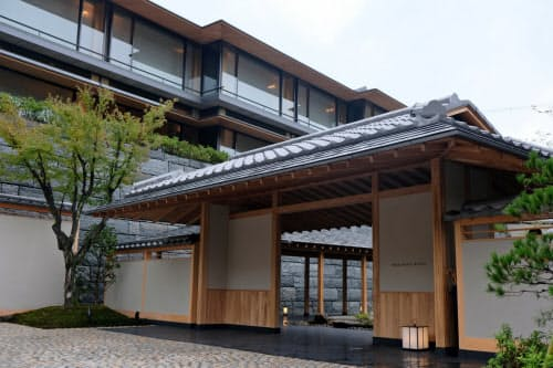 昨年10月に東山区に開業したパークハイアット京都
