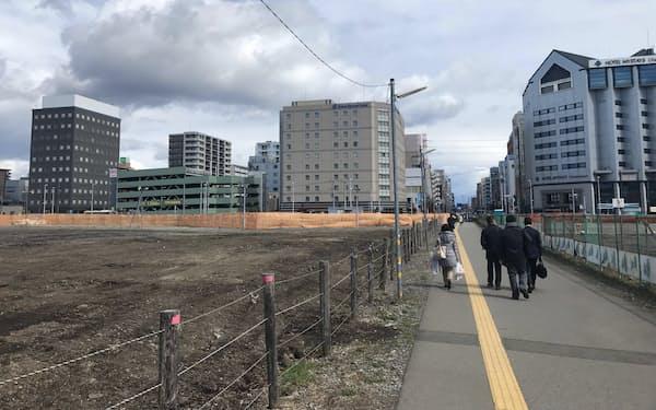 栃木県ではLRTの整備が進む宇都宮駅東側の地価上昇が目立った